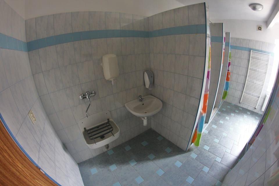 Ubytování Rychleby: Penzion Isolde - sprchy muži